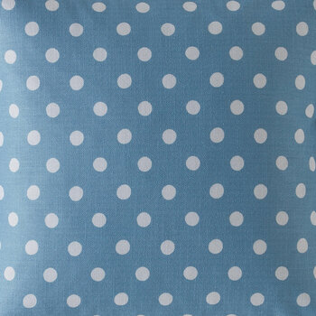 Button Spot Cushion - 40x40 - Blue
