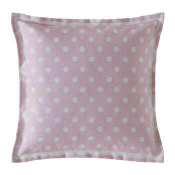 Button Spot Cushion - 40x40 - Blush