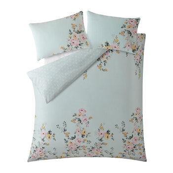 Vintage Bunch Duvet Set - Mint