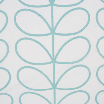 Linear Stem Pillowcase - Set of 2 - Neptune Blue