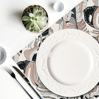 Origin Leaf Rectangle Placemat