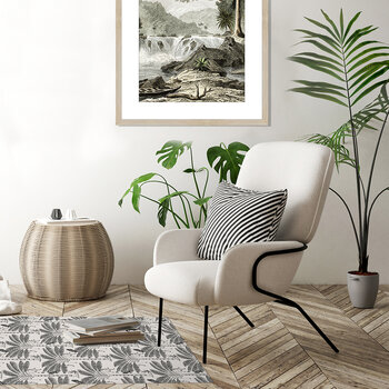 Origin Palm Tree Vinyl Floor Mat