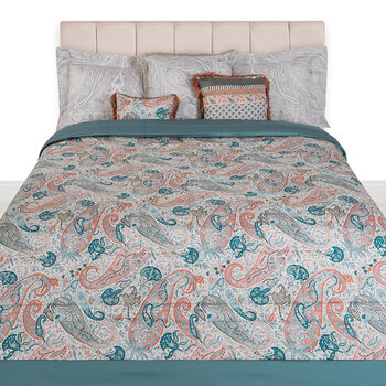 Salazar Turner Quilted Bedcover - 270x270cm - Green