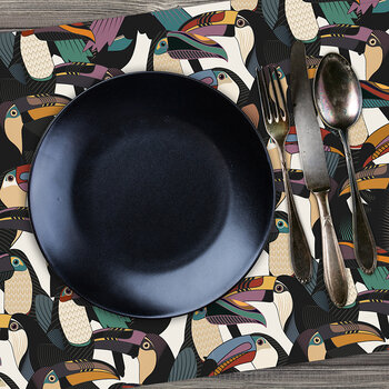 Tropicalism Toucan Rectangle Placemat