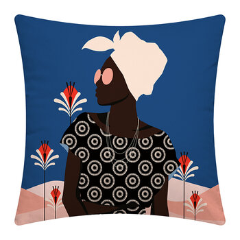 Desert Woman Pillow - 45x45cm