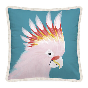Gypsy Waves Parrot Pillow - 45x45cm