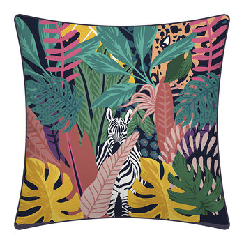 Zebra Jungle Outdoor-Kissen - 70x70cm