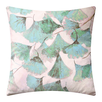 Gingko Pillow - 45x45cm - Jade