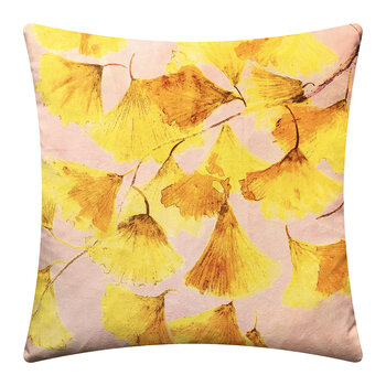 Gingko Cushion - 45x45cm - Sunshine