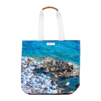The Capri Umbrellas Totebag