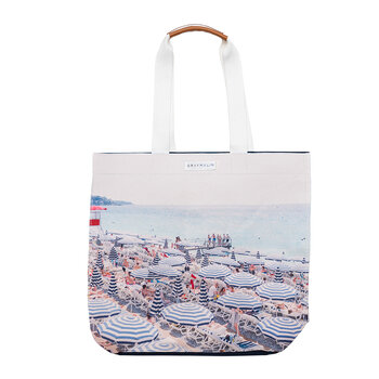 The French Riviera Strand-Totebag