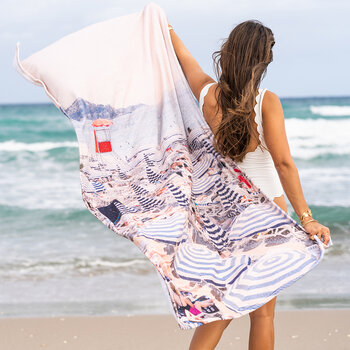 The French Riviera Towel