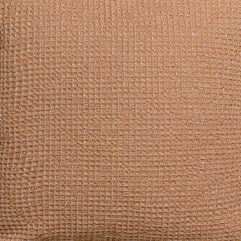 Maia Chambray Cushion - 45x45cm - Bronze