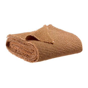 Maia Chambray Throw - Bronze