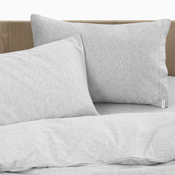 Body ID Pillowcase - Set of 2 - Heather Gray