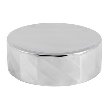 Nickel Textured Soap Dish