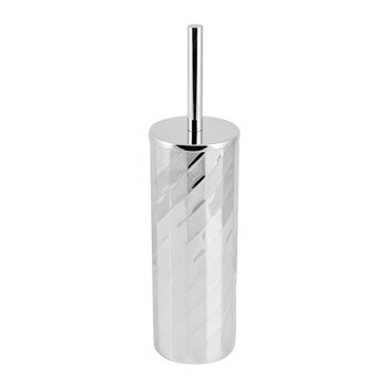 Nickel Textured Toilet Brush