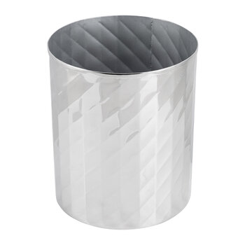 Nickel Textured Waste Bin
