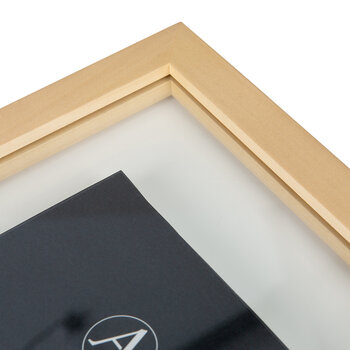 Floating Photo Frame - Wood