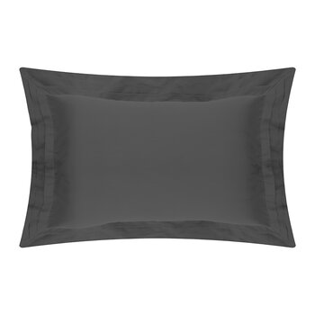 Furness Oxford Pillowcase - Charcoal