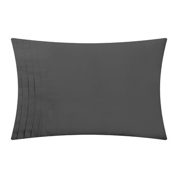 Furness Pillowcase - Set of 2 - Charcoal