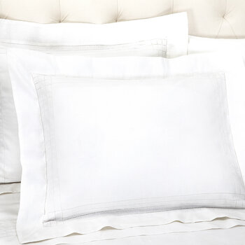 Grafton Oxford Pillowcase - White