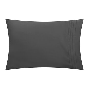 Grafton Pillowcase - Set of 2 - Charcoal