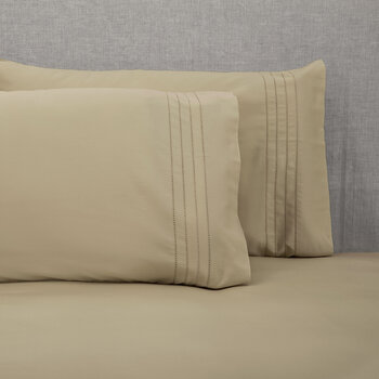 Grafton Pillowcase - Set of 2 - Taupe