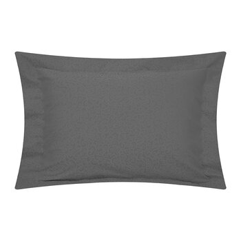 Princess Grace Oxford Pair Of Pillowcase - Charcoal