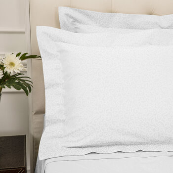 Princess Grace Oxford Pair Of Pillowcase - White