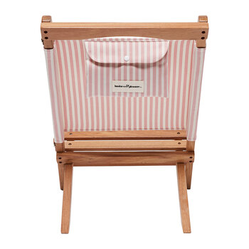 The 2-Piece Chair - Lauren's Pink Stripe