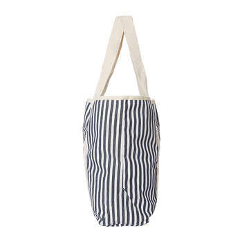 The Beach Bag - Lauren's Navy Stripe