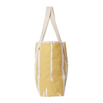 The Beach Bag - Vintage Yellow Stripe