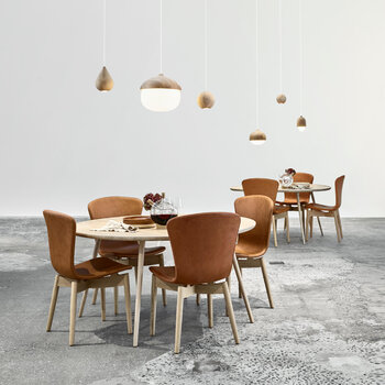 Shell Dining Chair - Brandy