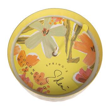 Springs Eden Scented Candle Tin - Coconut Milk