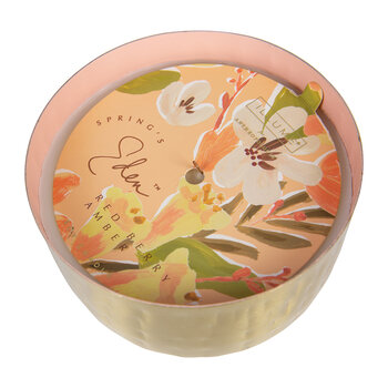 Springs Eden Scented Candle Tin - Red Berry Amber