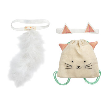 Dolly Dress Up Set - Cat Backpack