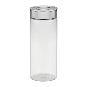 Glass Canister with Airtight Seal