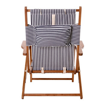 The Tommy Chair - Lauren's Navy Stripe