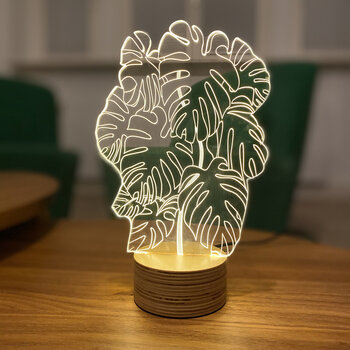 Monstera Table Lamp