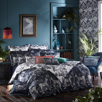 Lost World Duvet Cover - Navy