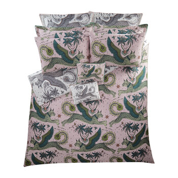 Lynx Duvet Cover - Blush