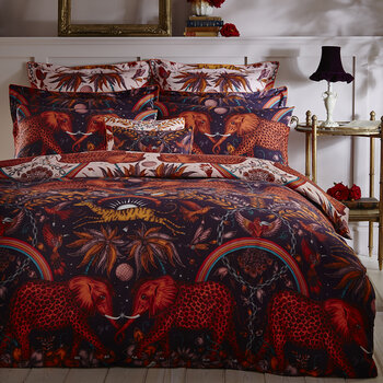 Zambezi Duvet Cover - Wine