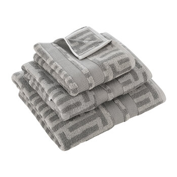 Tessellating Towel - Grey
