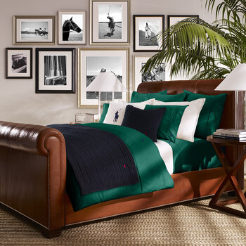Player Quilt Cover - Evergreen