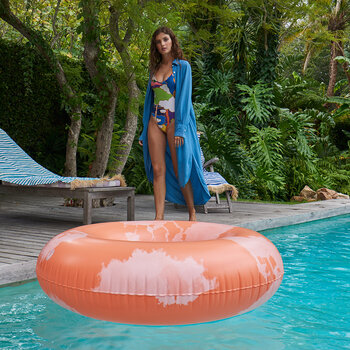 Extra Large Inflatable Ring - Goa Coral
