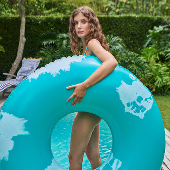 Extra Large Inflatable Ring - Goa Green
