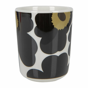 Oiva/Unikko Mug - Small - White/Black