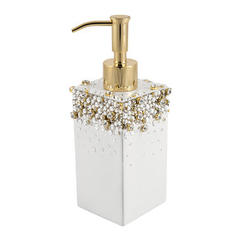 Duchess Soap Dispenser - Pearl/Gold