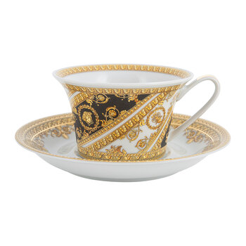 I Love Baroque Cappucino Cup & Saucer